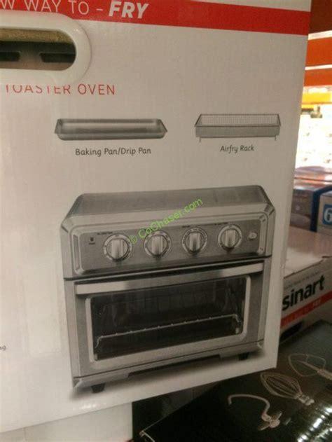 cuisinart air fryer oven  convection costcochaser