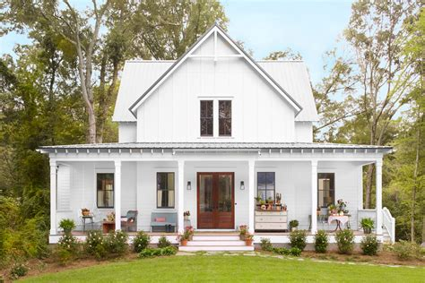 Farmhouse Plans With Front Porch by Crouch Farmhouse Southern Farmhouse