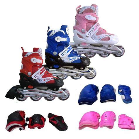 Sepatu Roda Di Jember jual sepatu roda anak murah inline skate bonus dekker