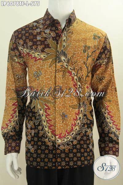 Hem Panjang Size L hem batik lengan panjang size l pakaian batik premium motif mewah proses tulis model lengan