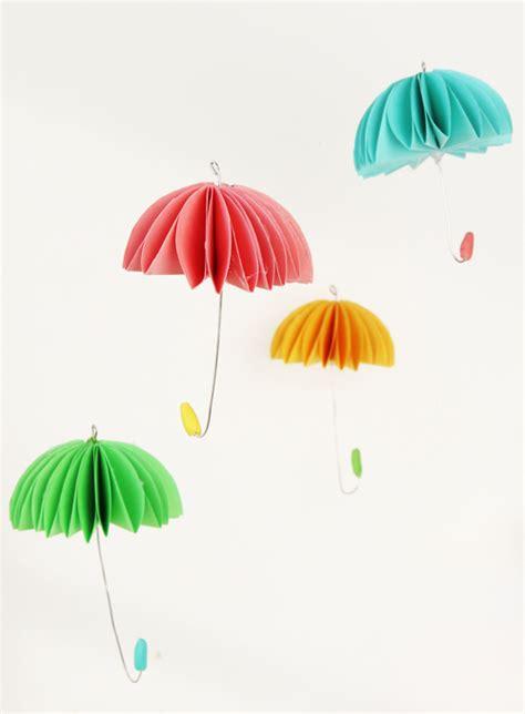umbrella mobile pattern how to make paper umbrellas
