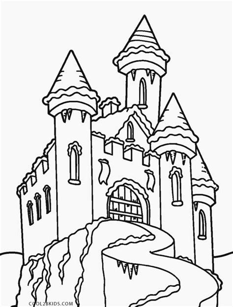 ice castle coloring page ice castle coloring printable coloring coloring pages