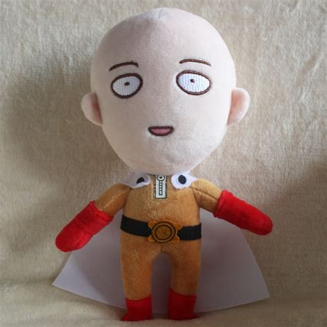 anime one punch man saitama anime one punch man 24cm saitama plush doll hero stuffed