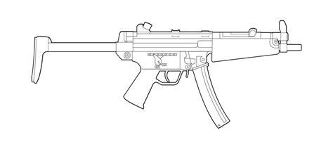 H&K MP5 sub machine gun   featured weapon emulation SATR