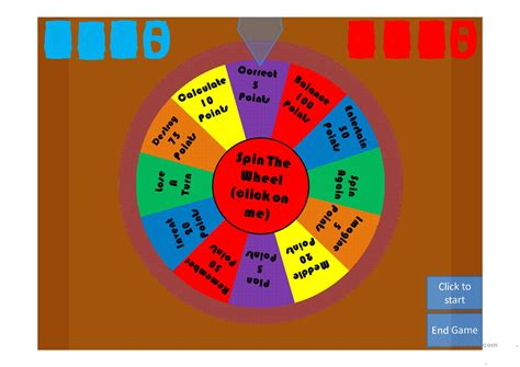 spin the wheel 200 verbs worksheet free esl projectable