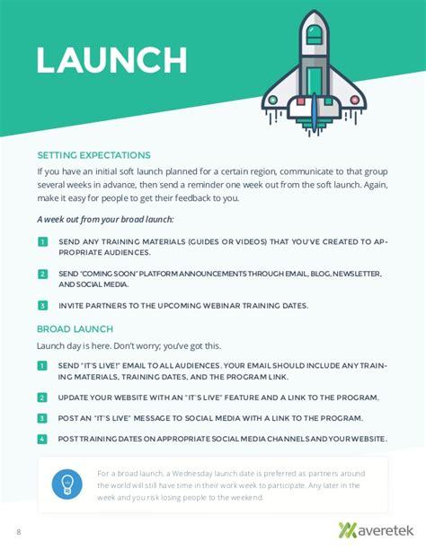 media launch plan template choice image templates design