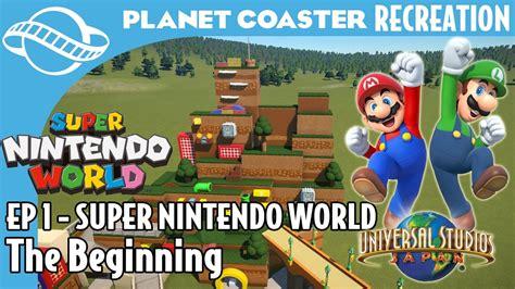 even more concept for universal nintendo world planet coaster nintendo world episode 1 the