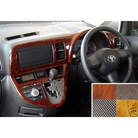 Toyota Set Panel Wood 2005 2006 2007 2008 2009 jdm toyota wish rhd vip interior panel set japan wood k
