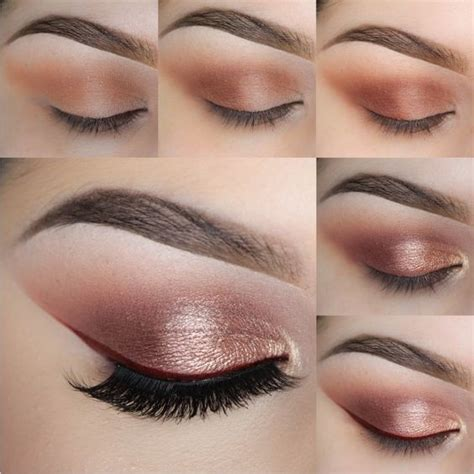review tutorial makeup natural rose gold eyeshadow gold eyeshadow and makeup geek on