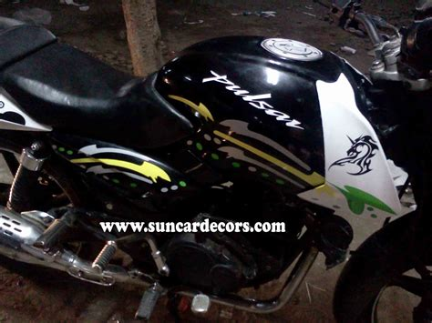 Lu Projector Pulsar 220 pulsar 150 sticker alteration bikes bicycling and the