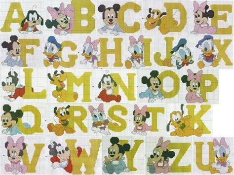 punto croce lettere per bambini punto croce per i bambini la passione alfabeti