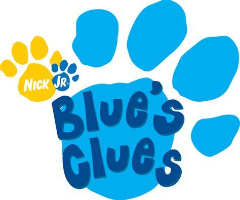 blue wiki file blues clues logo svg