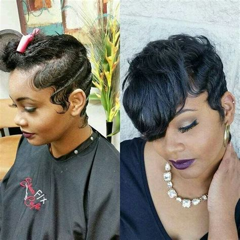 wet set very short black hair mold and style more short hair please pinterest