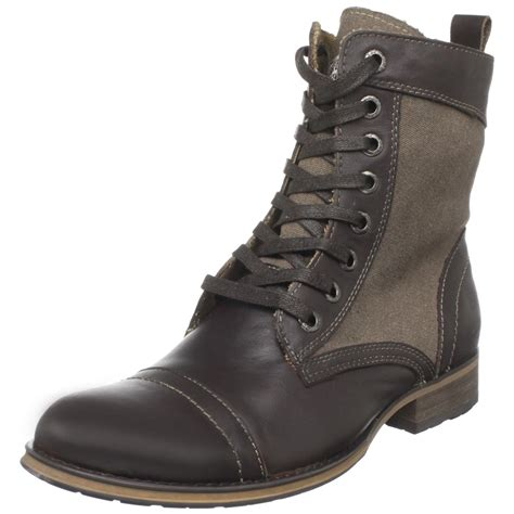 guess mens alfred boot in brown for lyst