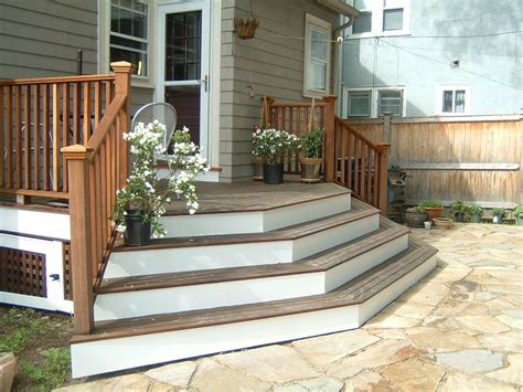 Back Porch Stairs Design Steps And Stairs In Garden And Landscape Design