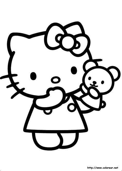 imagenes kitty para dibujar dibujos para colorear de hello kitty