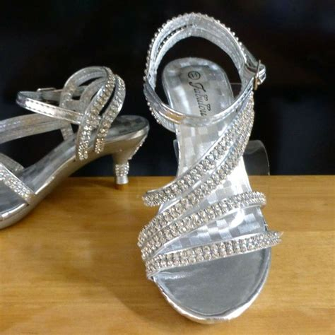 silver medium pageant crowning dress sandal shoes baby toddler size 9 11 12 ebay