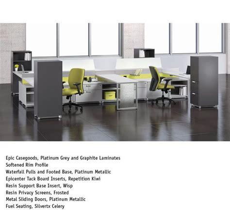 national office furniture inc bbf bush 300 series l shaped desk with pedestals harvest cherry epic office furniture inc