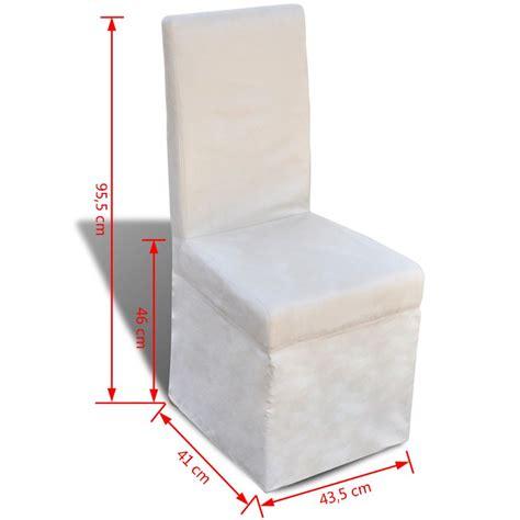 tavola con sedie articoli per sedie da tavola con fodera colore crema