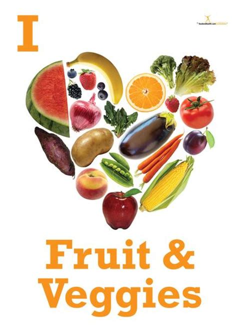 fruit v vegetables nutrition fruit and vegetable posters nutrition education store