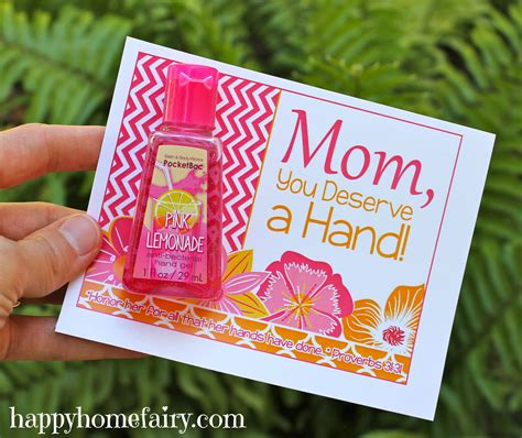 mothers day ideas retreat favors simple idea to celebrate use as a favor give to friends