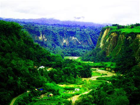wallpaper alam minangkabau the beauty landscape of indonesia