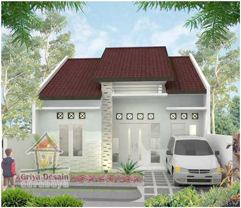 desain depan rumah elegan brilian model desain rumah minimalis 1 lantai mewah nyaman