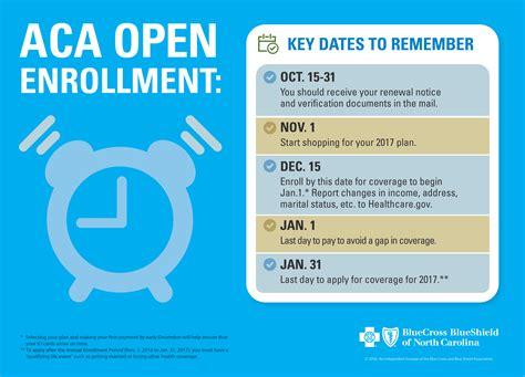 Unc Mba Health Insurance Enrollment by Bcbsnc Statement On Aca Enrollment Period Blue Cross
