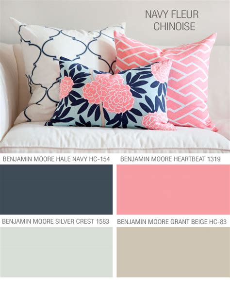 caitlin wilson textiles navy fleur chinoise paint colors to coordinate with caitlin s fabric