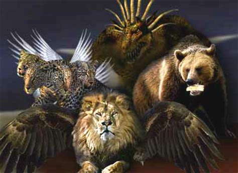 god s revelations of animals and books bible prophecy the beasts and horns