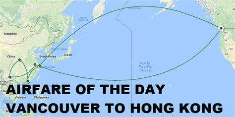 airfare of the day china eastern airlines vancouver to hong kong economy class 335