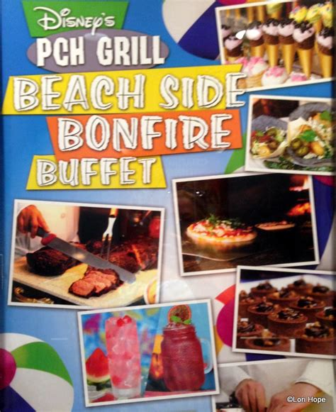 Disney Pch Grill Breakfast Price - guest review beach side bonfire buffet at pch grill in disneyland s paradise pier