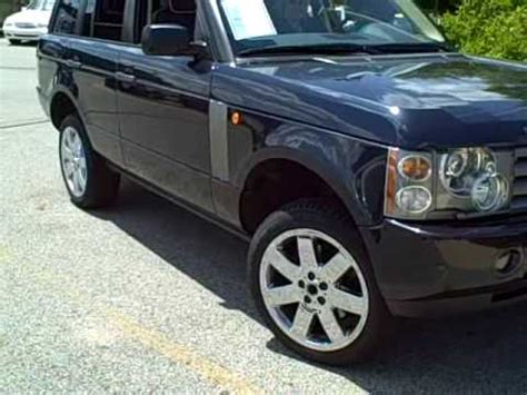auto air conditioning service 2011 land rover range rover parking system 2004 range rover air suspension youtube