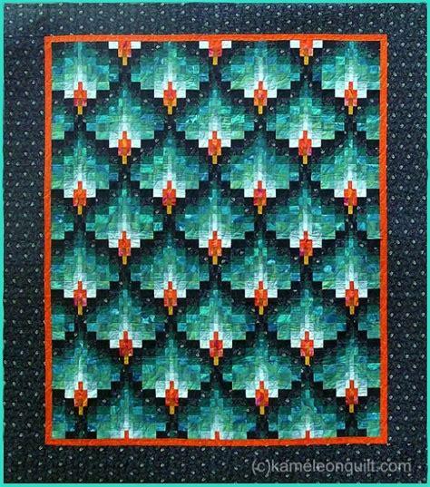 Bargello Patchwork - bargello quilt kameleon