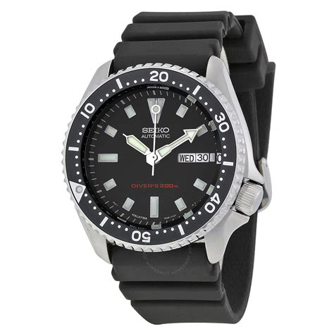 seiko dive watches seiko diver automatic black s skx173