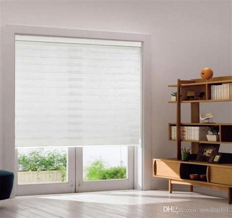 translucent window coverings 2017 custom size layer roller zebra blinds curtains