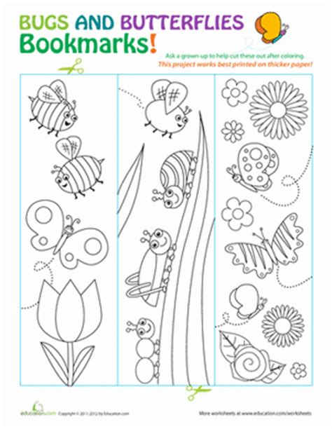 printable preschool bookmarks butterfly bookmarks butterfly template bookmarks and