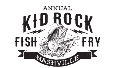 kid rock restaurant nashville menu it s on kid rock s 3rd annual fish fry announced for