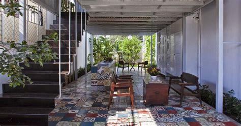 Konstruksi Ruang Baja rumah mungil yang segar dan asri desain ruang 2bdan