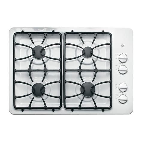 white cooktops ge appliances jgp329detww 30 quot gas cooktop white
