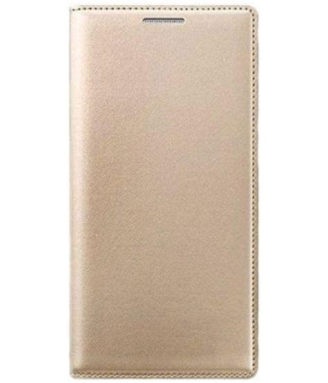 Flip Book Cover Casing Vivo V5 Original vivo v5 flip cover by zynk golden flip covers at low prices snapdeal india
