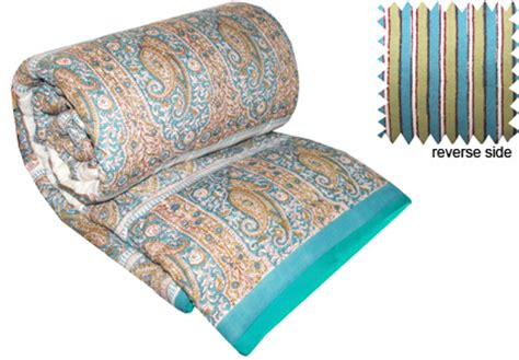 fair trade bedding printed cotton quilts bedding hand made in india by