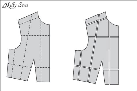 grading of pattern how to make a sewing pattern bigger or smaller pattern