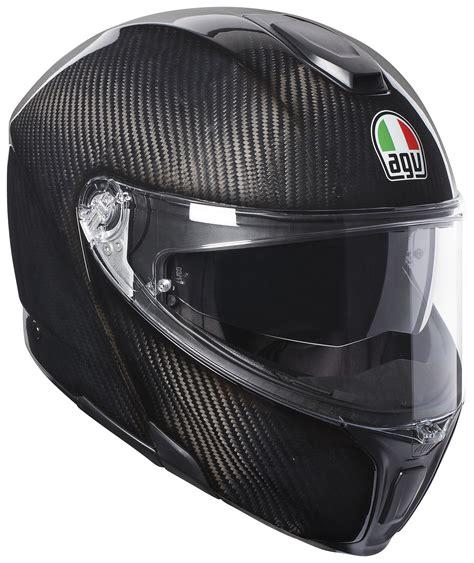 Helm Agv Sport Agv Sportmodular Carbon Solid Helmet Revzilla