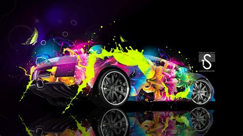 Paint Color Schemes by Colorful Lambo Wallpaper