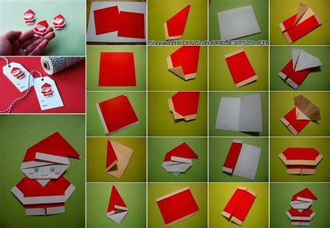 Make Origami Santa Claus - diy origami p 232 re no 235 l no 235 l tutoriels