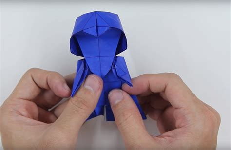 Tadashi Mori Origami - how to make an origami darth vader bored panda