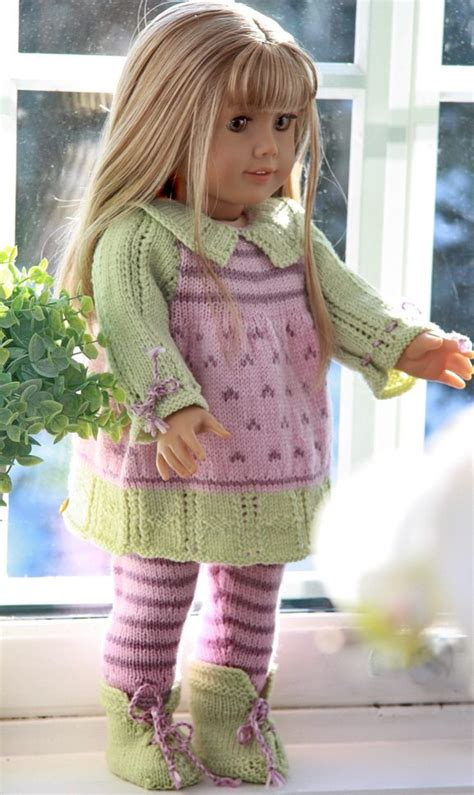free knitting patterns for dolls clothes to free crocheted american doll clothes patterns