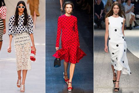 dot pattern fashion how to wear the polka dot trend