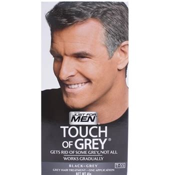 Hairstyle Wax Como Se Usa by Just For T55 Touch Of Grey Black